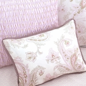 Honey Odile Decorative Boudoir Pillow with Trim