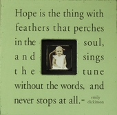 Hope Is the Thing Photobox Frame