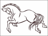 Horse 2 Custom Wall Decal