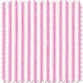 Hot Pink Ticking Fabric