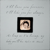 I'll Love You Forever Photobox Frame
