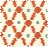 Ikat Geo Sunrise Fabric