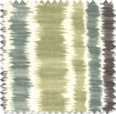 Ikat Stripe - Sunset Fabric
