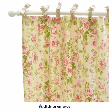 In Full Bloom Curtain Panel Set