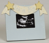 It's a Boy Sonogram Picture Frame