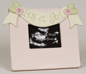 It's a Girl Sonogram Picture Frame