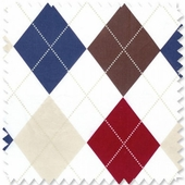Ivy League Blue Fabric