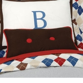 Ivy League Blue Lumbar Pillow