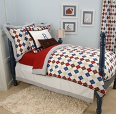 Ivy League Blue Reversible Duvet