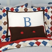 Ivy League Blue Standard Pillow Sham