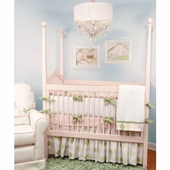 Ivy League Pink Crib Bedding Set