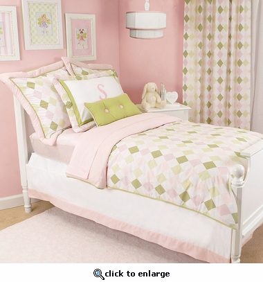 Ivy League Pink Reversible Duvet