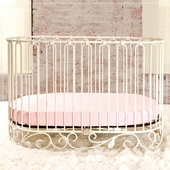 J'adore Cradle to Crib - Distressed White