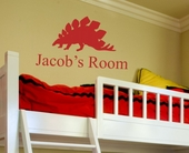 Jacob's Room Custom Personalized Wall Decal