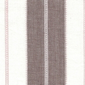 Java Stripe Pink And Brown Fabric