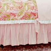 Joi de Vivre Gathered Bed Skirt