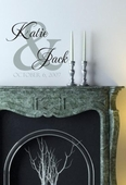 Katie and Jack Monogram Custom Personalized Wall Decal