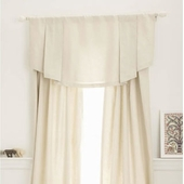 Khaki Linen/Cotton Window Valance