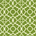 Lattice in Grass Fabric