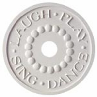 Laugh Play Sing Dance Chandelier Medallion