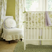 Lavender Fields Forever 2-Piece Crib Bedding Set
