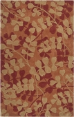 Leaves in Autumn Cosmopolitan Hand-Tufted Rug