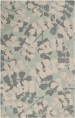 Leaves in Winter Cosmopolitan Hand-Tufted Rug