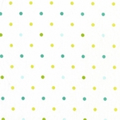 Lemon Lime Dottie Fabric