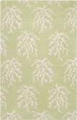 Lettuce Leaf Reef Escape Hand-Tufted Rug