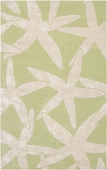 Lettuce Leaf Starfish Escape Hand-Tufted Rug