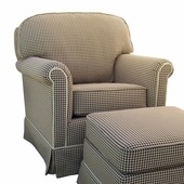 Lexington Adult Continental Glider Rocker Chair - Foam or Down