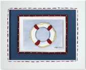 Life Ring Custom Framed Giclee Print