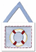 Life Ring Framed Giclee Print