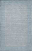 Light Blue Border Mystique Hand-Crafted Rug