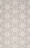 Light Gray Origami Fallon Hand-Woven Rug