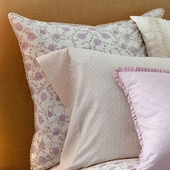 Lilac Arpege Euro Sham with Trim