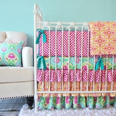 Lily Pad Crib Bedding Set