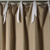 Linen Natural Window Panel