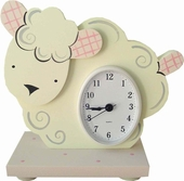 Little Lamb Table Clock