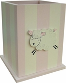 Little Lamb Wastebasket