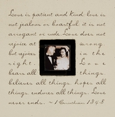 Love Is Patient Photobox Frame