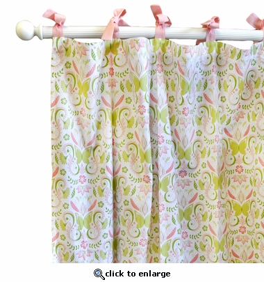 Love Song Curtain Panel Set