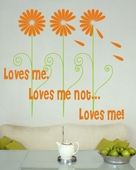 Loves Me Custom Wall Decal