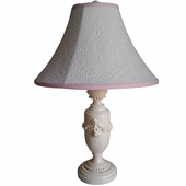 Madeline Pink Bella Medium Urn Lamp