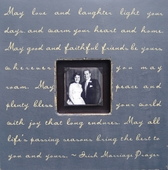 May Love and Laughter Photobox Frame