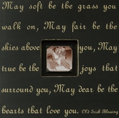 May Soft Be the Grass Photobox Frame