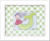 Mermaid Custom Framed Giclee Print