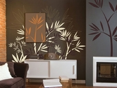 Modern Bamboo Custom Wall Decal
