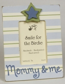 Mommy & Me Blue Picture Frame