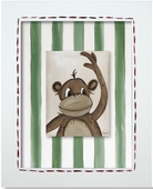 Monkey Custom Framed Giclee Print